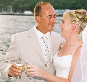 wedding cruises cape town