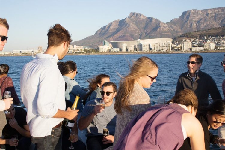 Preparing for a breathtaking Cape Town Sunset